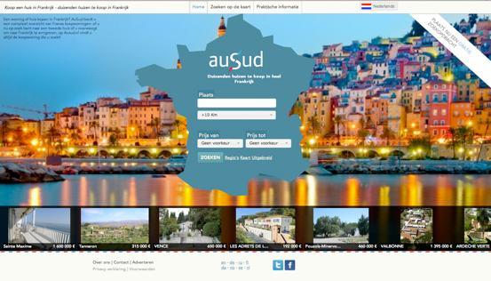 AuSud - Huizen in Frankrijk